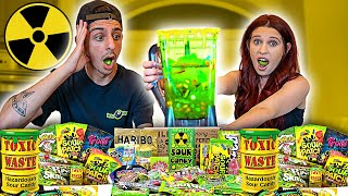 EXTREME SOUREST DRINK IN THE WORLD CHALLENGE!! (DO NOT TRY)