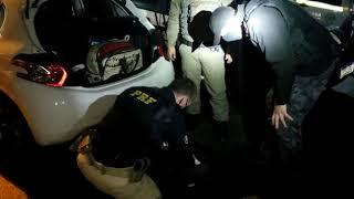 Traficante com dez quilos de maconha é preso na BR-116, em Pelotas, em ação policial