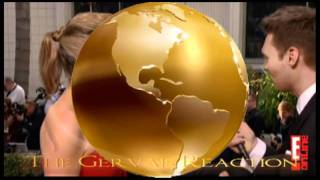 Ricky Gervais The Reaction Golden Globes 2011