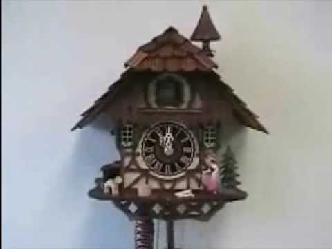 Chalet Cuckoo Clock - Animated Bell Ringer | Hones | #1294