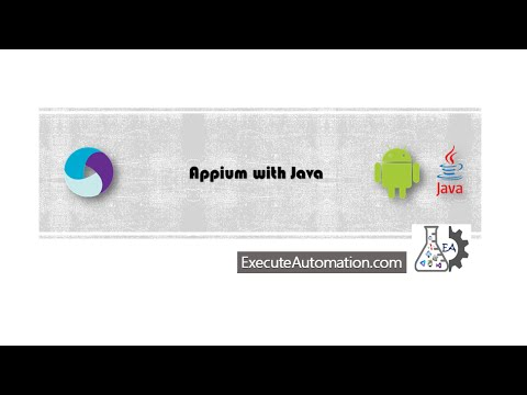 Automation mobile web apps using Appium -- Part 6 (Appium with Java series)