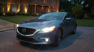 2016 Mazda6 Grand Touring Review - Hi-End Goodies for Less $$$