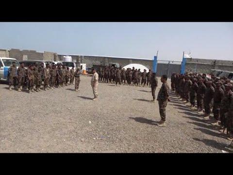 تخرج سرية جديدة من منتسبي قوات الأمن المركزي في المخا