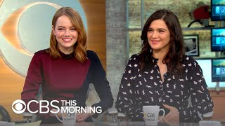 """Emma Stone and Rachel Weisz call """"The Favourite"""" a """"high-stakes 'Mean Girls'"""""""