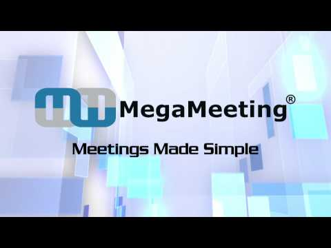 MegaMeeting.com  First-Rate Web & Video Conferencing