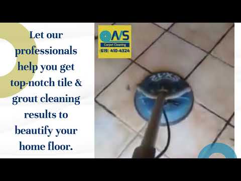 Revitalise Beauty of Floor with Tile & Grout Cleaning San Diego