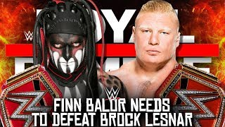 5 Reasons Why Finn Balor Will Defeat Brock Lesnar at WWE Royal Rumble 2019!