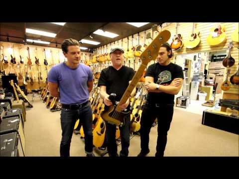 Arctic Monkeys at Norman's Rare Guitars