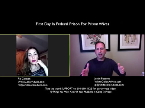 First Day in Federal Prison (for Prison Wives)|| Federal Prison Time ||Your first day in Prison