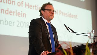 Opening of the Academic Year 2018/2019:  Helmut K. Anheier's speech