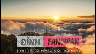 Đỉnh Fansipan Flycam | Thành Phố Trên Mây Tựa Thiên Đường | Cảnh Đẹp Việt Nam | Flycam 4K