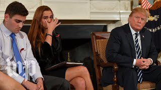 Trump's meeting with Fla. school shooting survivors, in three minutes