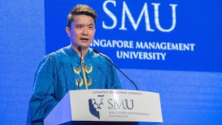 Razer CEO, Min-Liang Tan | Singapore Management University Commencement Speech 2019