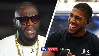 EXCLUSIVE: Deontay Wilder says Anthony Joshua fight will happen if negotiations are kept private! - YouTube