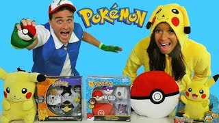Pokemon Toy Challenge with Pikachu and Ash Ketchum ! || Toy Review || Konas2002