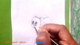 Cute animals drawing - cute baby insect drawing for kid's   Drawings 4 you