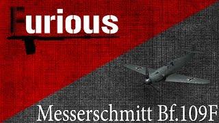 Messerschmitt Bf.109F. Диво дивное.