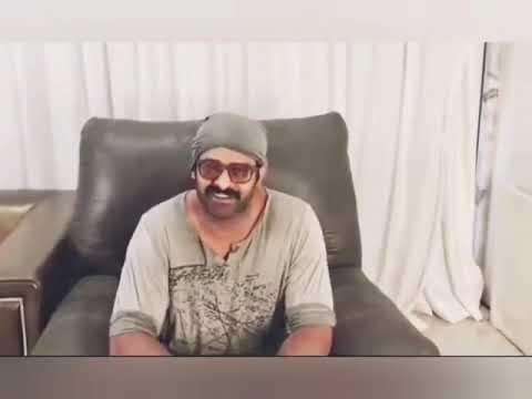 Baahubali star Prabhas conveys birthday wishes to Megastar Chiranjeevi