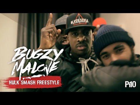 P110 - Bugzy Malone - Hulk Smash #WalkWithMe