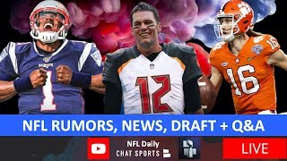 NFL Daily LIVE with Tom Downey & Harrison Graham (08/10/2020)