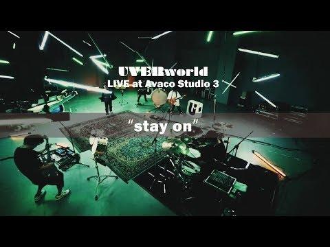 UVERworld Live at Avaco Studio 3『stay on』short ver.