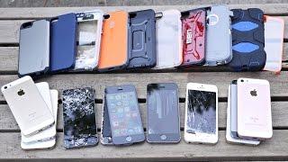 Top 10 iPhone SE Cases Drop Test! Most Durable iPhone SE/5S Case?
