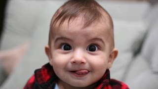 TRY NOT TO LAUGH - Funny Baby Videos Compilation (2016)