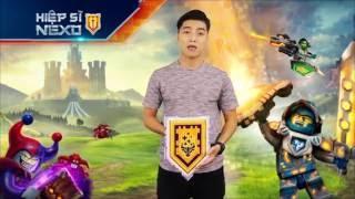 Ngọc Trai giới thiệu phim Hiệp Sĩ NEXO - Tập 7 : Mê Cung Rắc Rối