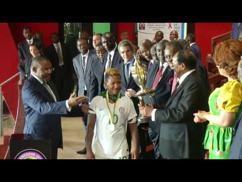 Cérémonie de clôture de la CAN Féminine, Cameroun 2016