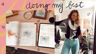 COLLEGE WEEK IN MY LIFE: Pre-med first week of classes+ update!!!