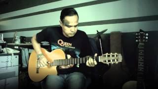 Potret (Akim & The Majistret) - Fingerstyle Cover Instrumental Acoustic Akustika
