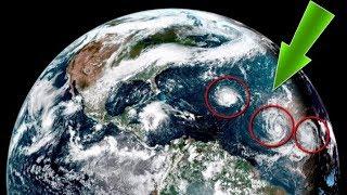 3 huracanes se han formado en el atlántico