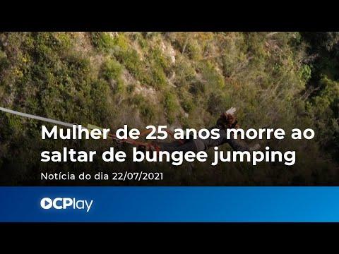 Mulher de 25 anos morre ao saltar de bungee jumping