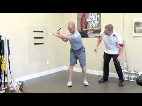 Deep Abdominal Activation in Golf Stance.m4v