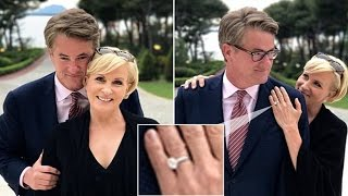 Mika Brzezinski shows off engagement ring from Joe Scarborough | joe scarborough and mika brzezinski