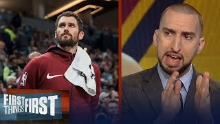 Nick Wright on the Cavaliers: Trading Kevin Love is not out of the question | FIRST THINGS FIRST