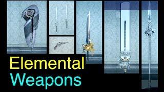 Final Fantasy XV: All Elemental Weapons