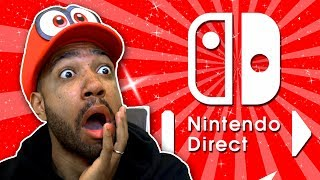 Nintendo FINALLY announced SMASH BROS?!? - [Nintendo Direct March 8th 2018]