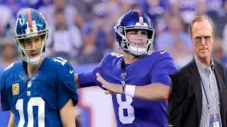 New York Giants- John Mara says he hopes Eli Manning is the starter all year! My thoughts!