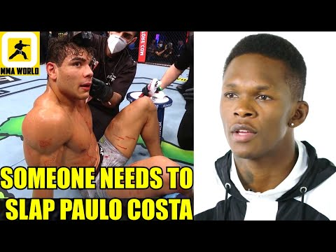 Paulo Costa is out of his mind and says one of the dumbest stuff ever-Cormier,Israel to W-in at 193?