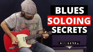 Blues Soloing Secrets - Unlocking The Pentatonic Scale - Guitar Lesson