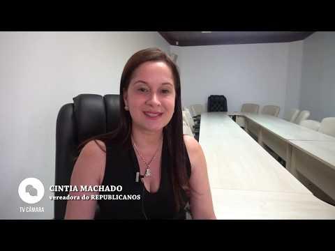 Entrevista com a vereadora Cintia Machado