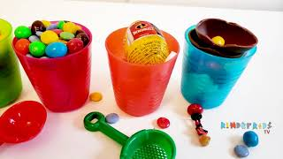 Surprise Eggs Incredibles Color learning Kinder Kids