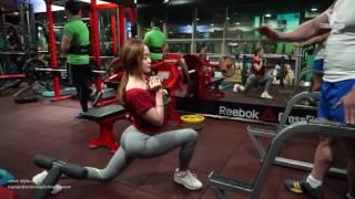 Hoa hậu sexy Hàn Quốc khoe cơ thể nóng bỏng trong phòng tập Gym