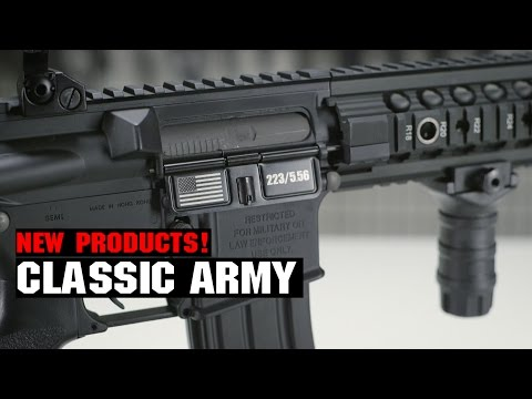 Classic Army New Products! VCW M4, M24 LTR Sniper Rifle! | AIRSOFTGI.COM