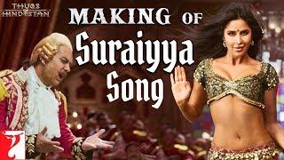 Making of Suraiyya Song   Thugs Of Hindostan   Aamir, Katrina, Prabhudeva, Ajay-Atul, A Bhattacharya