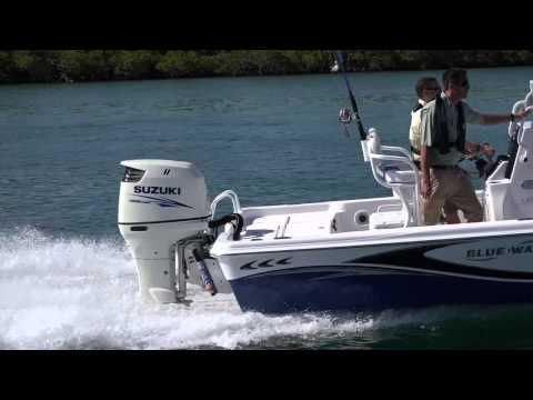 Suzuki Outboard Motors now in White and Black
