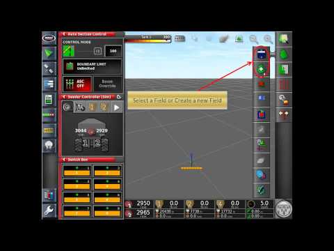 Bourgault X30 - How to Create a Boundary