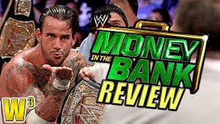 WWE Money In the Bank 2011 Review   Wrestling With Wregret