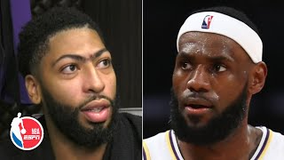 Anthony Davis envisions LeBron finding Lakers' shooters for open looks all season | NBA on ESPN